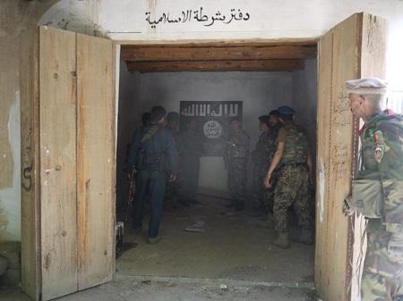 مرکز جذب داعش در ننگرهار به تصرف نیروهای امنیتی در آمد