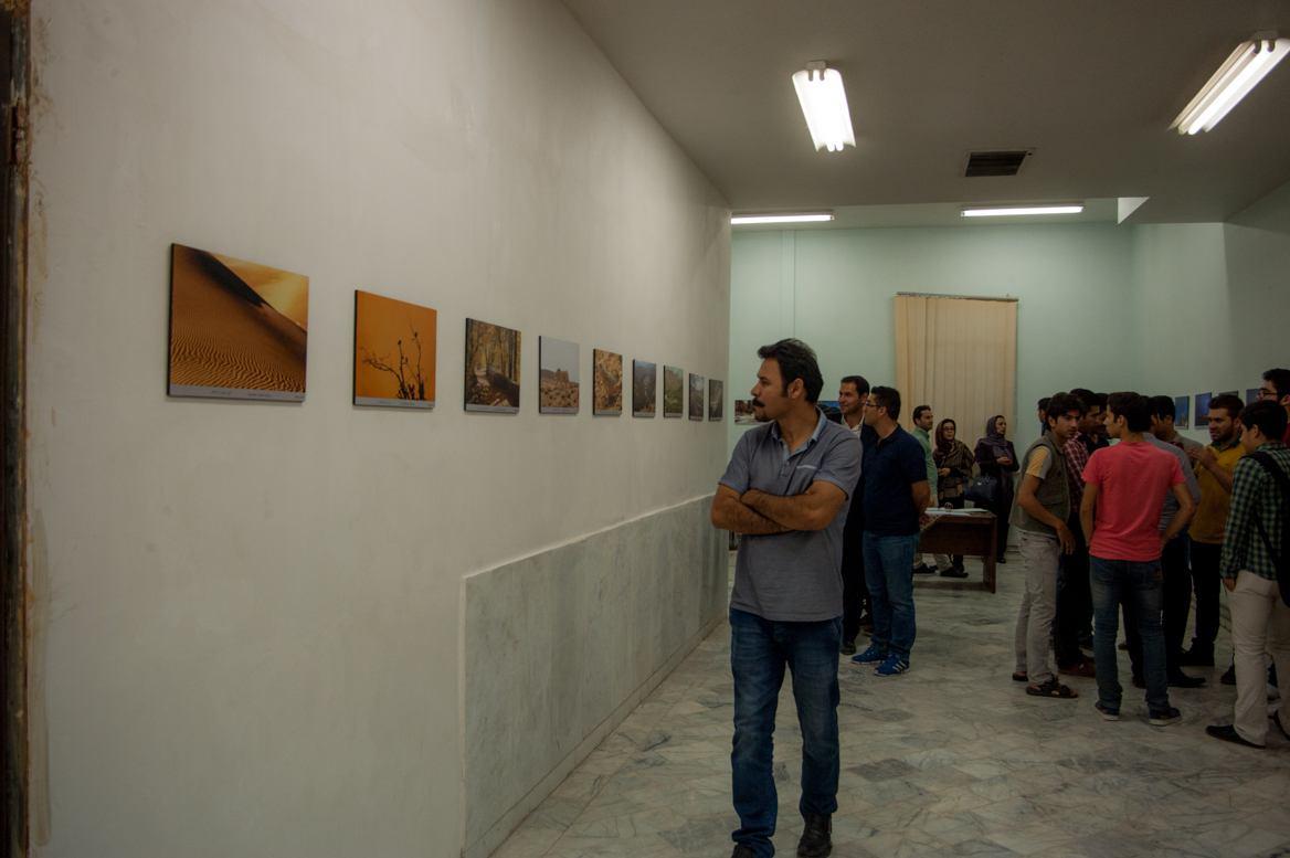 برپایی نمایشگاه قاب حیات دو در همدان
