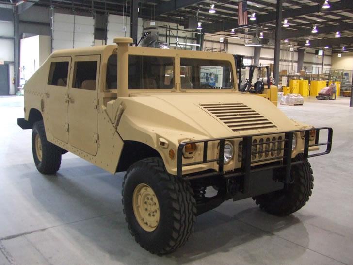 ۱۶۰۰ خودروی نظامی «هاموی» در اختیار ارتش افغانستان قرار میگیرد