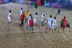 تيم ملي فوتبال ساحلي افغانستان در جايكاه ۱۹ آسيا و ۱۰۱ دنيا ايستاد