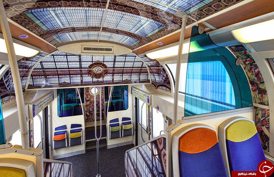 موزه هنر در قطار فرانسوی+تصاویر