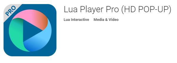 نرم افزار بی نظیر پخش فیلم Lua Player Pro