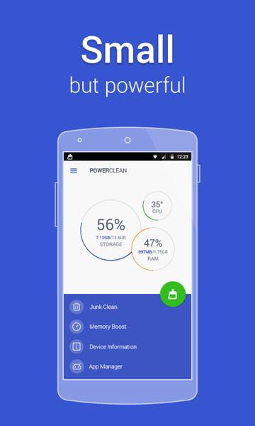 دانلود بهینه ساز سریع و کم حجم Power Clean