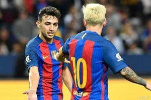 پیروزی پرگل بارسلونا برابر قهرمان انگلیس