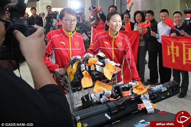 کاربران چینی:فقط سالم برگردید/وحشت ورزشکاران چین از محل اقامت+تصاویر