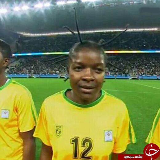 تصویری از عجیبترین چهره المپیک تا پیش از برگزاری افتتاحیه