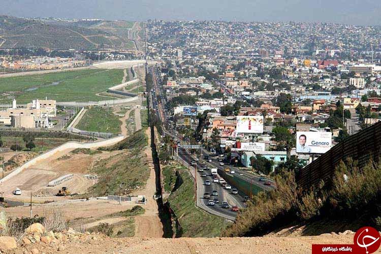 تصاویر دیده نشده از مرز کشور ها