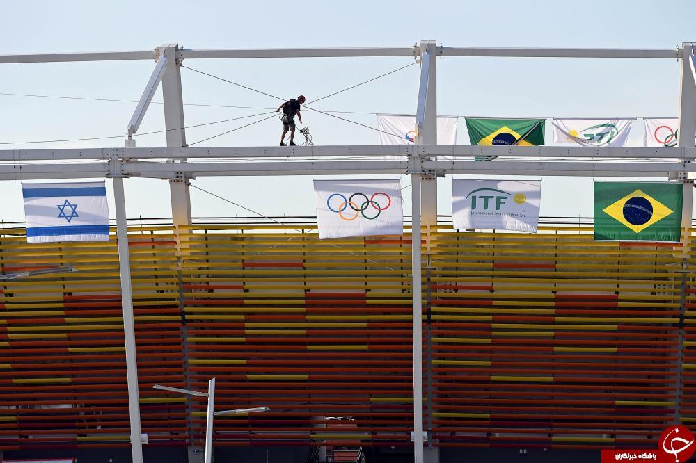 فقط یک روز مانده به آغاز المپیک 2016/ ریو هنوز آماده نیست+ تصاویر