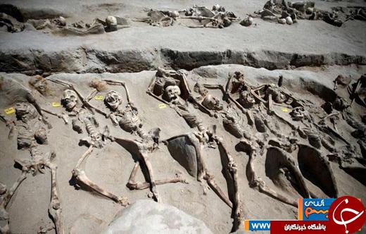 عکس/ کشف گورستان باستانی در یونان