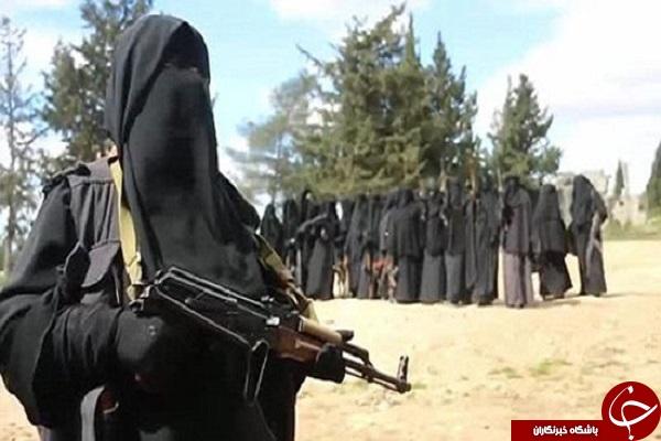 گروهان زنان داعشی + تصاویر