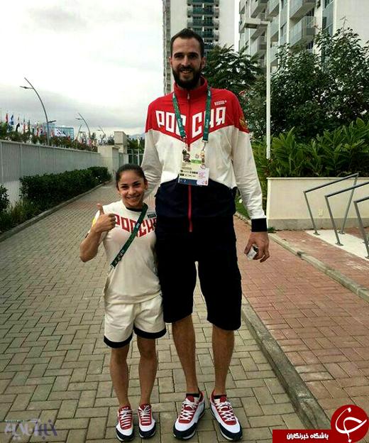 عکس/ بلندترین و کوتاهترین ورزشکاران کاروان لهستان در المپیک ریو ۲۰۱۶
