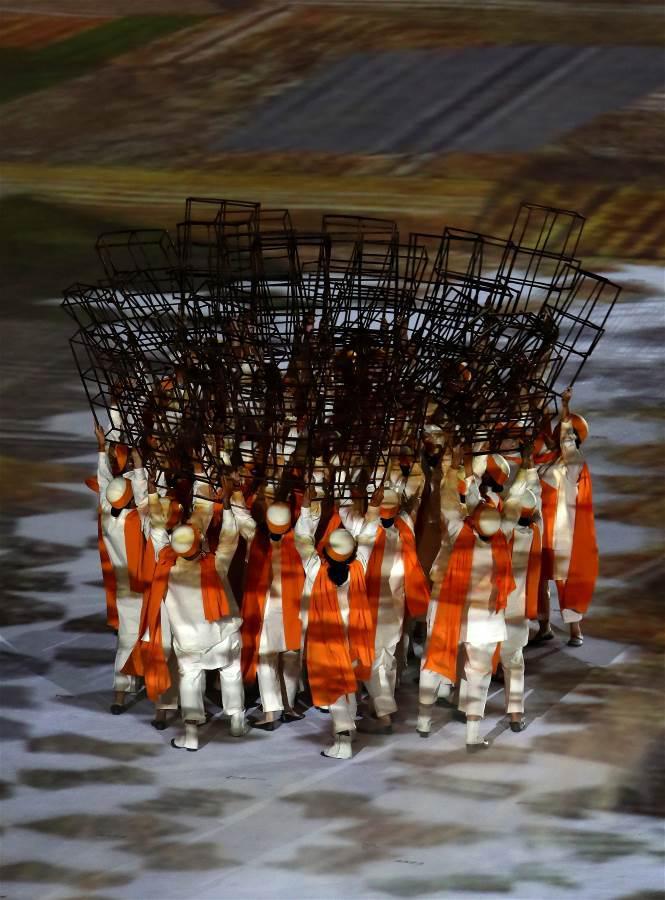 تصاویر افتتاحیه المپیک ریو 2016