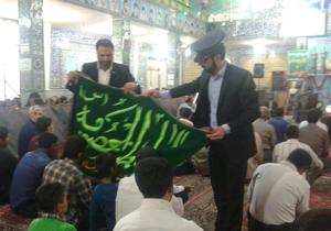 مراسم دعای ندبه با حضور خادمین حضرت معصومه (س) + فیلم و تصاویر