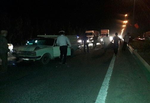 حادثه ای دیگر در بزرگراه امام علی(ع)