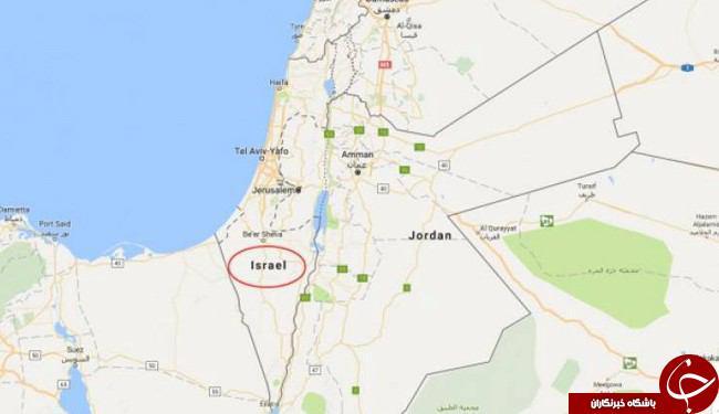گوگلمپ فلسطین را از نقشه حذف کرد د +تصویر