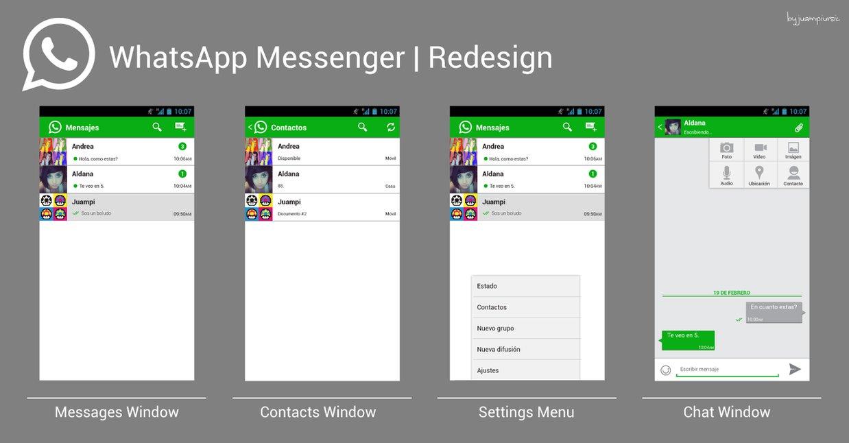 دانلود نسخه جدید پیام رسان WhatsApp