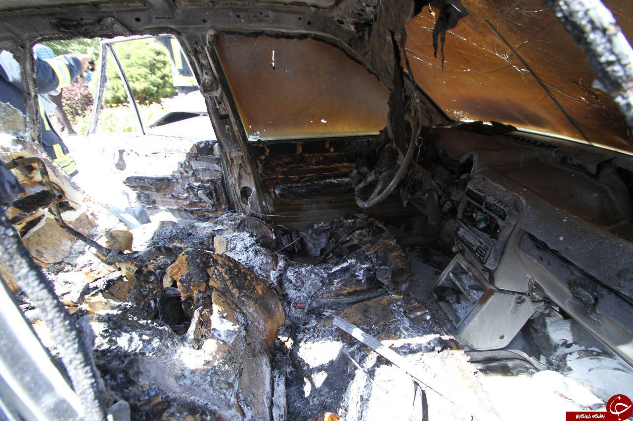 2 نوجوان یک خانواده در آتش سوختند + تصاویر