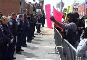 اعتراض سیاهپوستان به نژادپرستی و خشونت پلیس در شیکاگو