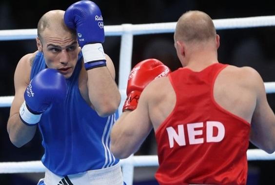 حریف هلندی روزبهانی از المپیک حذف شد گزارش تصویری وداع زودهنگام روزبهانی با المپیک ریو
