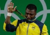 مردی که بدون دست قهرمان وزنهبرداری المپیک شد +تصاویر