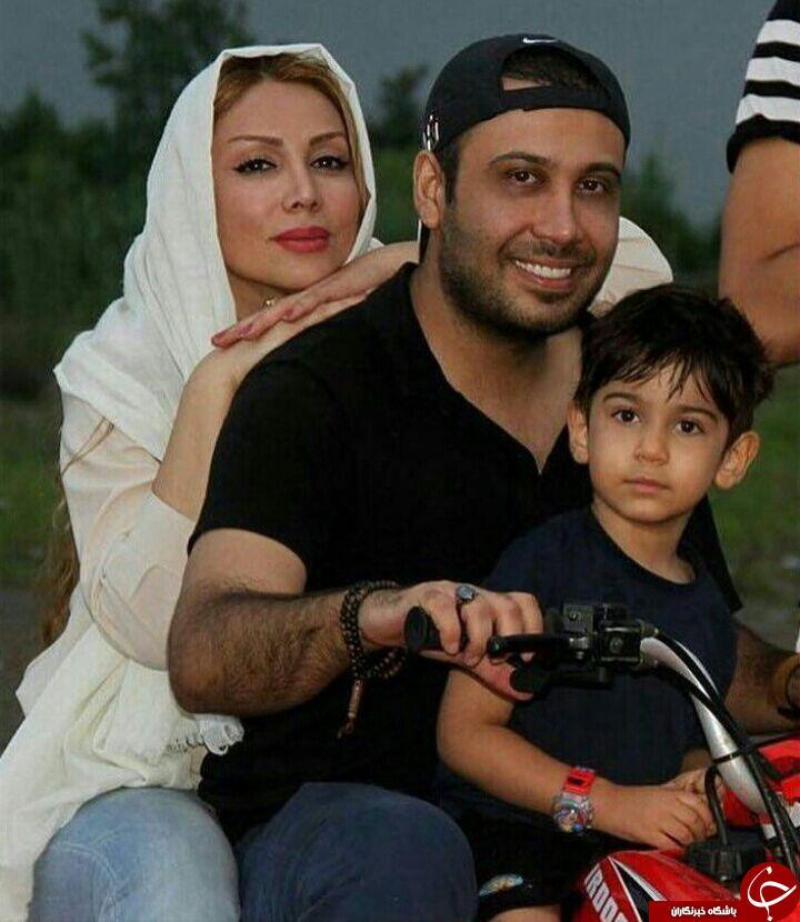 محسن چاووشی به همراه خانواده