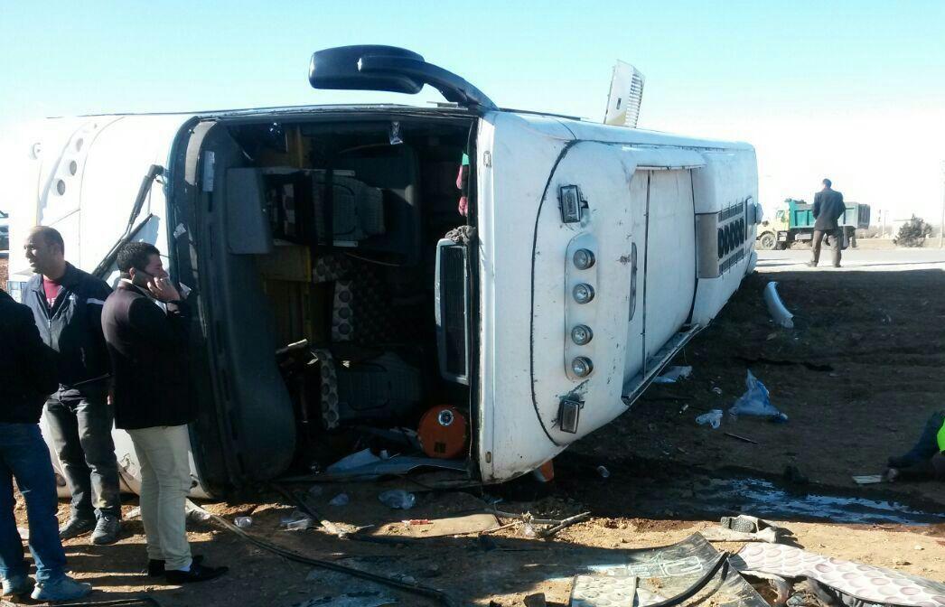 واژگونی مرگبار اتوبوس مسافربری در جاده چالوس/28 تن کشته و مجروح شدند