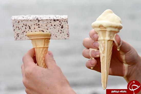 بستنی مناسب فصل تابستان +تصاویر