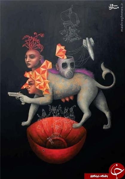 نمایشگاهی با نمادهای شیطانپرستی و جنزدگی در تهران +عکس