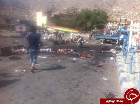 تصاویر انفجار در کابل (+18)