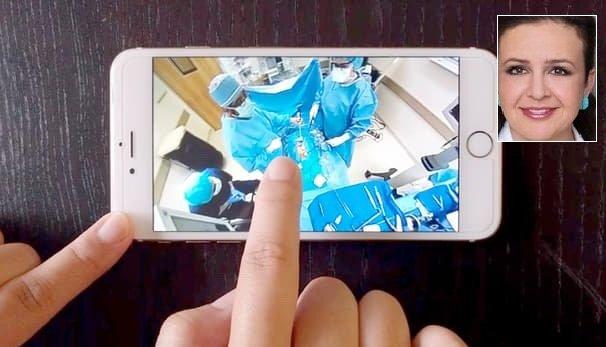 جراحی پزشک ایرانی را 360 درجه ببینید +عکس