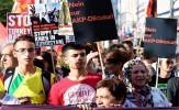 باشگاه خبرنگاران - تظاهرات مخالفان اردوغان در برلین