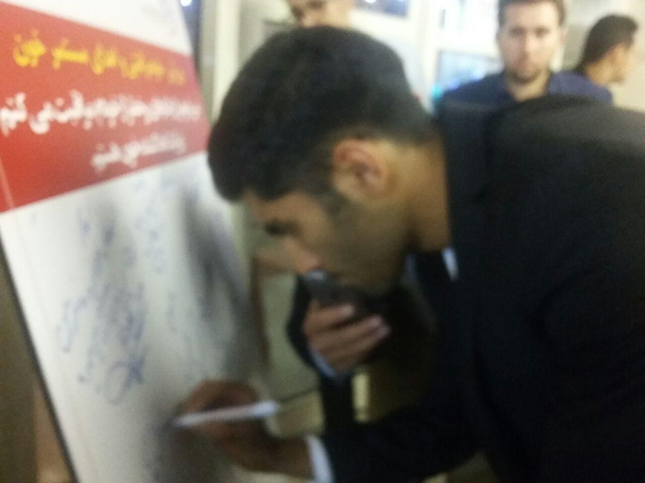 مراسم برترین های لیگ برتر فوتبال آغاز شد + تصاویر و مصاحبه ها