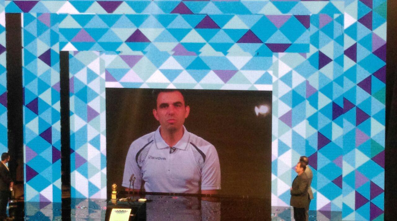 مراسم برترین های لیگ برتر فوتبال آغاز شد + فیلم ، تصاویر و مصاحبه ها