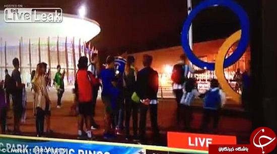 بچهای حلقه المپیک را در برنامه زنده شکست +تصاویر