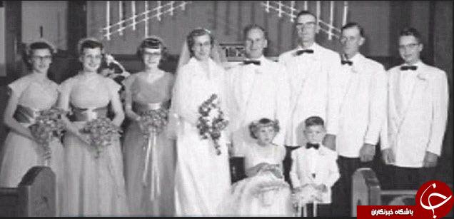 زوجی که پس از 63 سال زندگی در مرگ هم شریک شدند +تصاویر