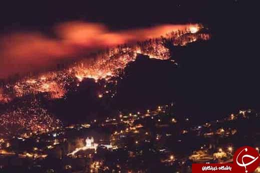 آتشسوزى علیرضا حقیقى را روانه بیمارستان کرد +تصاویر