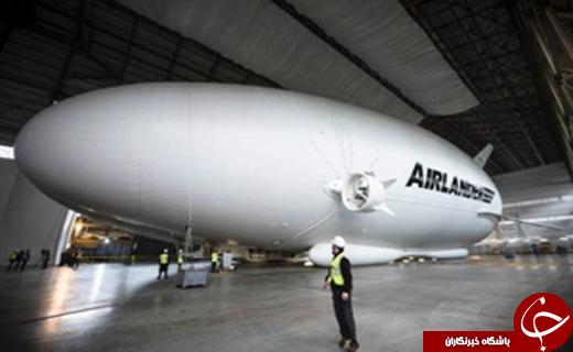 بزرگترین هواپیمای جهان را ببینید