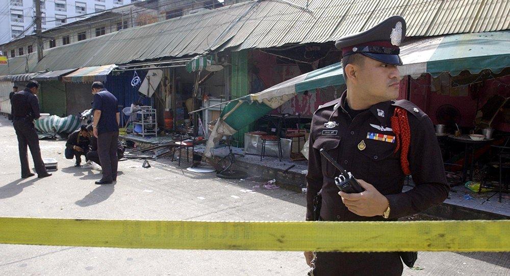 8 زخمی در انفجار نزدیک بازاری در جنوب تایلند