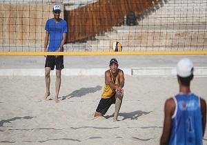 برگزاری مسابقات والیبال ساحلی در سرعین