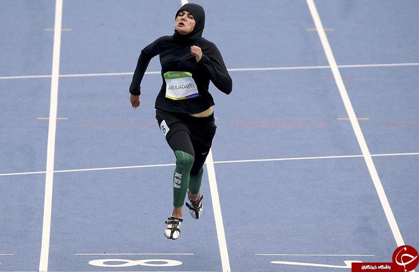 ورزشکاری که در ریو به خاطر حجابش اینترنت را تسخیر کرد + تصاویر