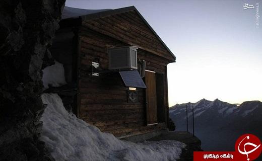 عکس/ خانهای روی خطرناکترین قله جهان