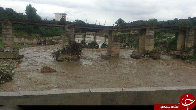 تخریب یک پل نوساز پس از 2 هفته! +عکس