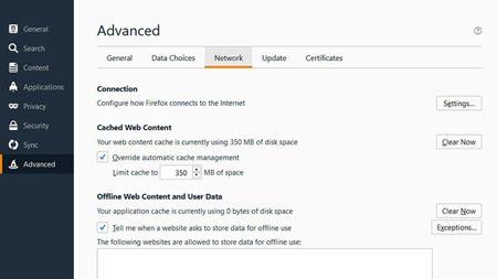 ترفندهایی ساده برای افزایش سرعت در مرورگر فایرفاکس