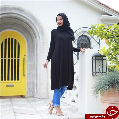 برند اسلامی اولین مدال آور با حجاب امریکایی