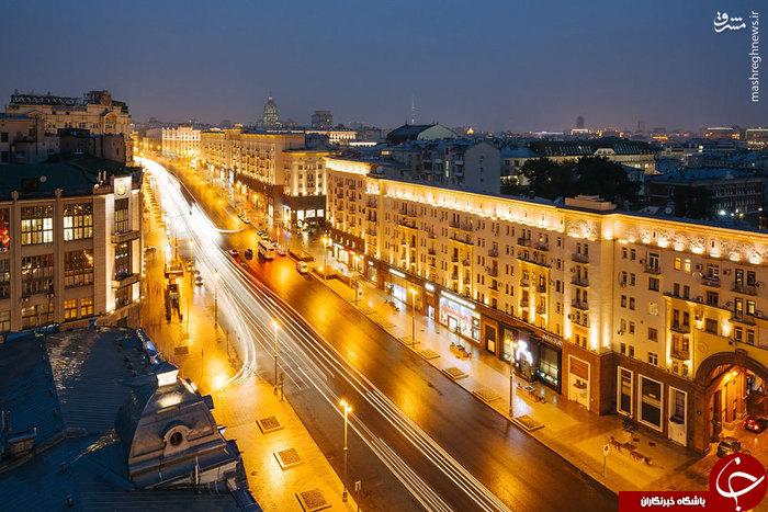 تصاویر/ لوکسترین خیابان مسکو