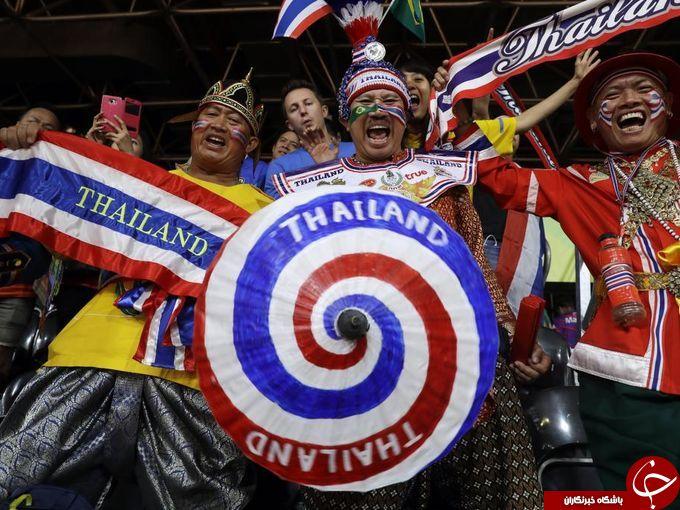 رنگینکمان هواداران و پرچمها در ریو + تصاویر