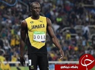 بولت، هفتمین طلای المپیک را هم صید کرد/ عنوان قهرمانی دوی 100متر المپیک ریو به بولت رسید + فیلم و عکس