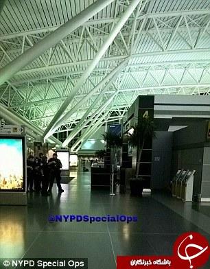 تصاویر فرودگاه JFK پس از تیراندازی شب گذشته