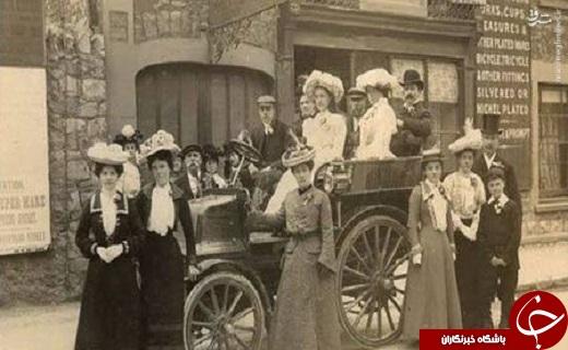 عکس/ اولین ماشین عروس جهان
