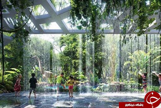 هتل جدید دبی با جنگل استوایی +عکس